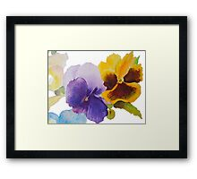 A thought Framed Print