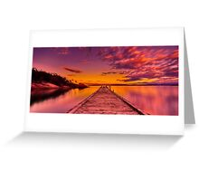 """Freycinet Dawn"" Greeting Card"