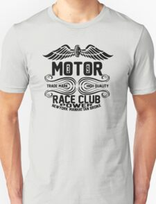 Newyork Manhattan Bronx Motorcycle T-Shirt