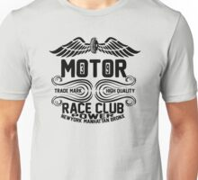 Newyork Manhattan Bronx Motorcycle Unisex T-Shirt