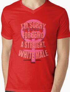 Anti-Feminism Apparel - White Male Priveledge Mens V-Neck T-Shirt