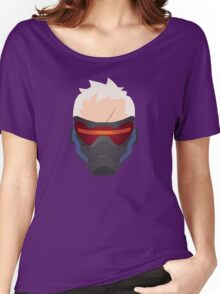 Minimalist Soldier 76 Women's Relaxed Fit T-Shirt