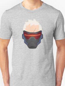 Minimalist Soldier 76 Unisex T-Shirt
