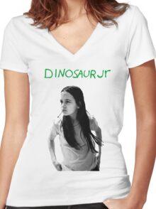 dinosaur jr (green mind) Women's Fitted V-Neck T-Shirt
