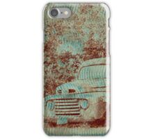 1950 Ford F100 - Textured Rust iPhone Case/Skin