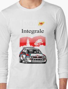 Lancia Integrale  Long Sleeve T-Shirt