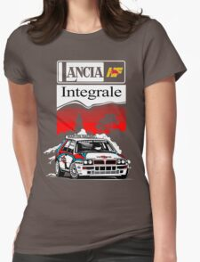 Lancia Integrale  Womens Fitted T-Shirt