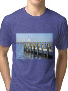 Quayside Jetty, Perth Tri-blend T-Shirt