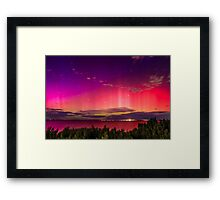 Aurora Australis the Southern Lights 2 Framed Print