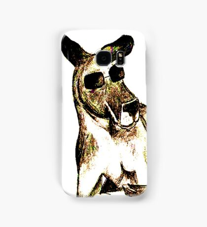 Cool Kangaroo (Colour) Samsung Galaxy Case/Skin