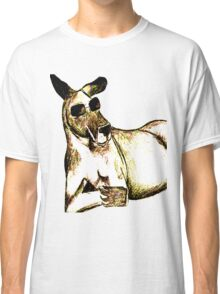 Cool Kangaroo (Colour) Classic T-Shirt