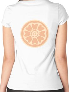 order of the white lotus symbol Women's Fitted Scoop T-Shirt
