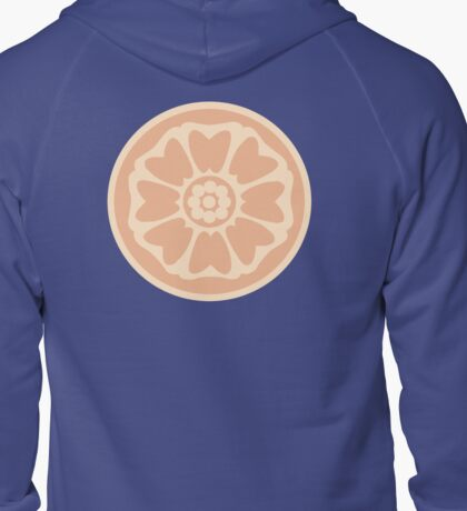 order of the white lotus symbol Zipped Hoodie