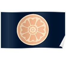 order of the white lotus symbol Poster