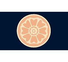 order of the white lotus symbol Photographic Print