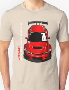 Lancer Evolution X Unisex T-Shirt