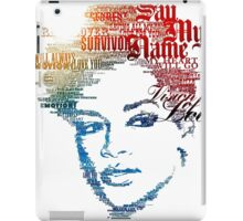 rihanna iPad Case/Skin