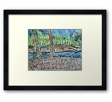 Housekeeping Camp, Yosemite: October 2014 Framed Print