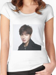 Lee Min Ho 6 Women's Fitted Scoop T-Shirt