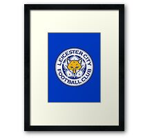 The Blue Foxes  Framed Print