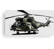 Puma Helicopter Metal Print