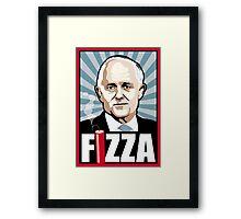 FIZZA Framed Print