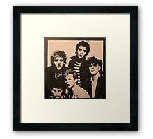Vintage Duran Duran Framed Print