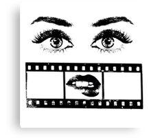 Eyes Film Canvas Print