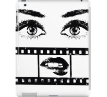 Eyes Film iPad Case/Skin