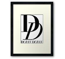 Duran Duran Logo Framed Print