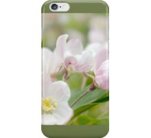 Soft freshness of apple blossom iPhone Case/Skin