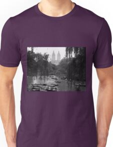 Boating in Central Park Unisex T-Shirt