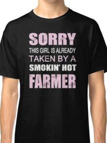 Sorry this girl is already taken by a smokin hot farmer Classic T-Shirt