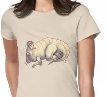 Instaguanodon Womens Fitted T-Shirt