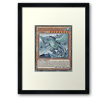 Gameciel, The Mutant ninja Kaiju Framed Print