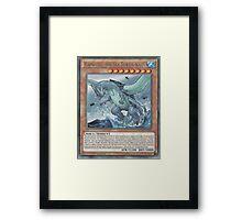 Gameciel, The Mutant ninja Kaiju Framed Print