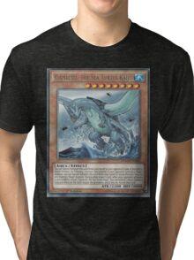 Gameciel, The Mutant ninja Kaiju Tri-blend T-Shirt