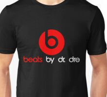 MUSIC BEATS HEADPHONE LOGO Unisex T-Shirt