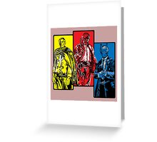 The good The bad and The Archer Greeting Card