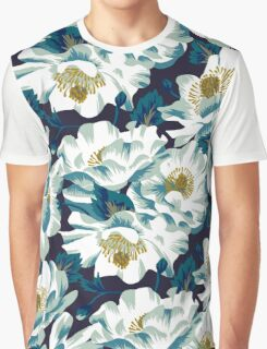 Mount Cook Lily - dark colourway Graphic T-Shirt
