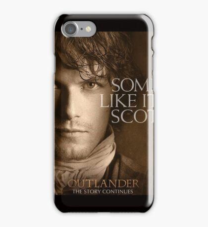 Outlander/Jamie Fraser-Highlander, Warrior iPhone Case/Skin