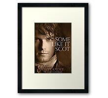 Outlander/Jamie Fraser-Highlander, Warrior Framed Print