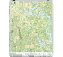 USGS TOPO Map Alabama AL Black Pond 303260 2000 24000 iPad Case/Skin