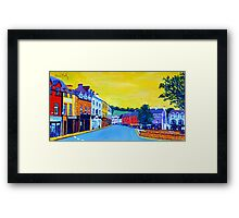 Donegal Town, Ireland Framed Print
