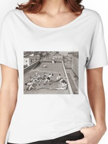 Women Boxing On Roof Women's Relaxed Fit T-Shirt