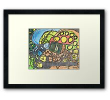 The Sparkle in the Center Framed Print