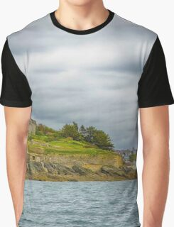 Approaching St. Mawes, Cornwall Graphic T-Shirt