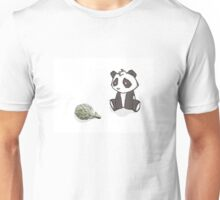 Sad Baby Panda Unisex T-Shirt