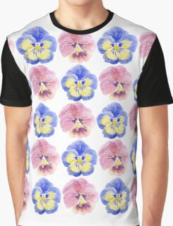 Pansies Graphic T-Shirt