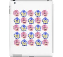 Pansies iPad Case/Skin